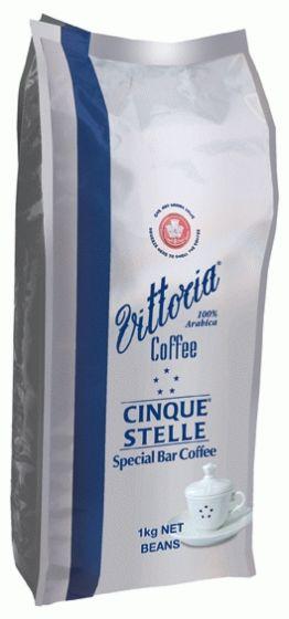 Vittoria Cinque Stelle Bean 1 Kg Vittoria Coffee