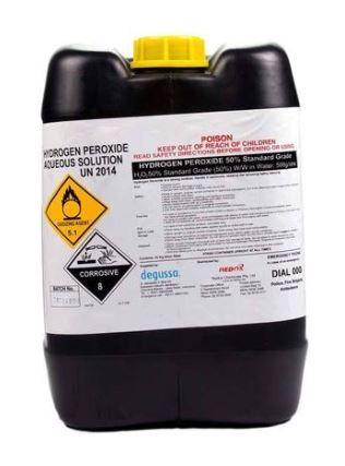 Hydrogen Peroxide 35 Food Grade 20l Industrial