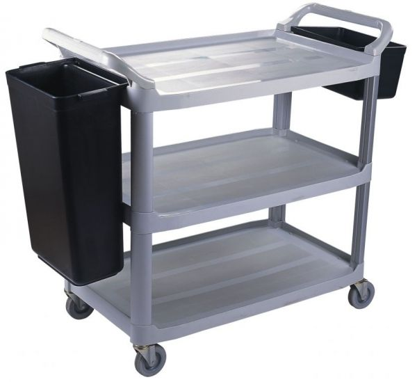 NZJ 3 Level Dining Trolley / Cart SMALL Carts And Trolleys