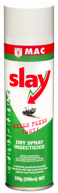 Slay Dry Spray Insecticide 500ml Insect Pest Control