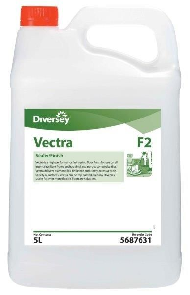 Vectra Sealer Finish Diversey 5 Lt Hard Floor Care